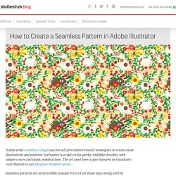 How to Create a Seamless Pattern in Adobe Illustrator - The Shutterstock Blog
