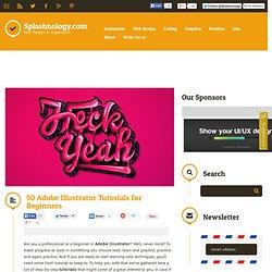 50 Adobe Illustrator Tutorials for Beginners