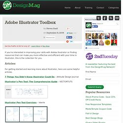 Adobe Illustrator Toolbox - Web Design Blog – DesignM.ag
