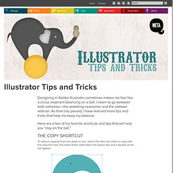 Illustrator Tips And Tricks