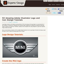 50 Amazing Adobe Illustrator Logo and Icon Design Tutorials