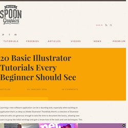 20 Basic Illustrator Tutorials Every Beginner Should See
