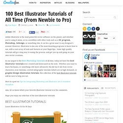 100 Best Illustrator Tutorials of All Time (From Newbie to Pro)