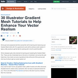30 Illustrator Gradient Mesh Tutorials to Help Enhance Your Vector Realism - Vectortuts+