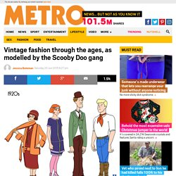 Illustrator Julia Wytrazek draws the Scoody Doo gang in the fashions of each decade of the 20th Century