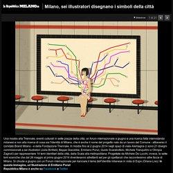 Milano, sei illustratori disegnano i simboli della città - 1 di 21 - Milano