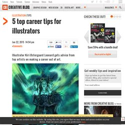 5 top career tips for illustrators