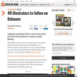 48 illustrators to follow on Behance