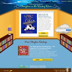 Kids books with audio. Children's books narrated by their authors and illustrators. It's Storytime.. - A Story Before Bed