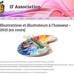 Illustratrices et illustrateurs à l'honneur – 2015 (en cours)