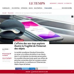 L'affaire des sex-toys espions