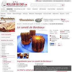 Le canelé de Bordeaux
