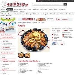 Paella - La recette illustrée - Le plat espagnol !