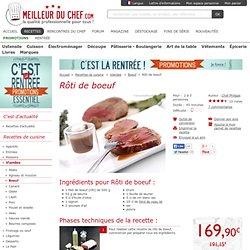 Rôti de boeuf - Recette de cuisine illustrée - La meilleur cuisson