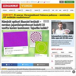 Hämärät optiset illuusiot leviävät – nerokas japanilaisprofessori kulutti 10 vuotta kuvien luomiseen: Tajuatko kaikki? - Viihde - Ilta-Sanomat