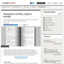 ILMIOLIBRO - Impaginare un libro, regole e consigli - Corso di editing