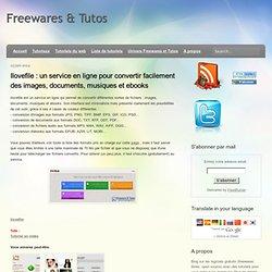 Ilovefile : un service en ligne pour convertir facilement des images, documents, musiques et ebooks