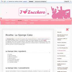 La Sponge Cake - Ilovezucchero sito dedicato alla pasta di zucchero,cake design, cupcakes, cake topper!