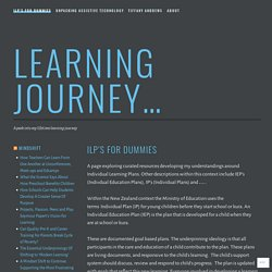 ILP's for dummies – Learning Journey…