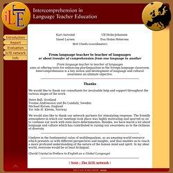ILTE - Introduction