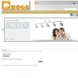 ROGU Iluminación - Lámparas y aparatos de iluminación para tu hogar - ROGU