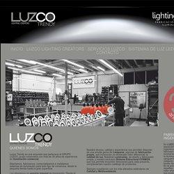 LUZCO Trendy: Fábrica de Luminarias y de Sistemas LED de iluminación profesional