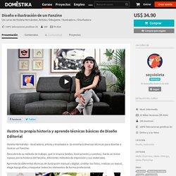 Diseño e ilustración de un Fanzine (Violeta Hernández). Curso Online