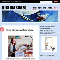 Elena Odriozola, ilustradora.