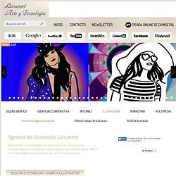 Ilustradores, agencia de ilustración, ilustraciones, directorio de ilustradores, estudio de ilustración | Luisannet