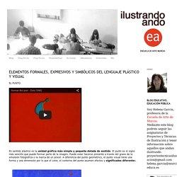 ILUSTRANDO: ELEMENTOS FORMALES, EXPRESIVOS Y SIMBÓLICOS DEL LENGUAJE PLÁSTICO Y VISUAL