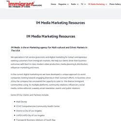 IM Media Marketing Resources