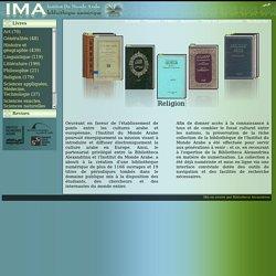 Bibliothèque numérique de l'Institut du Monde Arabe