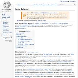 Bio Imad Lahoud