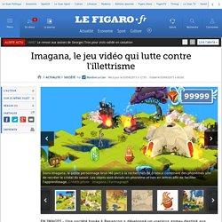 Imagana, le jeu vidéo qui lutte contre l'illettrisme