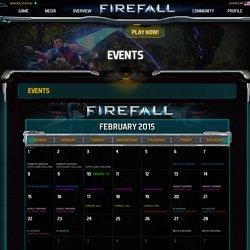 Firefall calendar