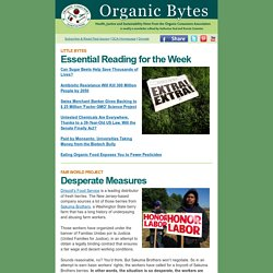 Organic Bytes #460: GMO Apples Approved, Consumers Fight Back
