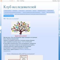 """Клуб исследователей: МК """"Путь исследования"""""""