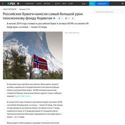 Российские бумаги нанесли самый большой урон пенсионному фонду Норвегии