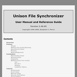 www.cis.upenn.edu/~bcpierce/unison/download/releases/stable/unison-manual.html