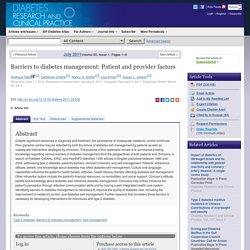 diabetesresearchclinicalpractice