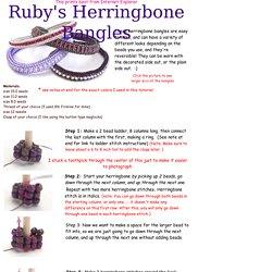 RubysHerringboneBangles