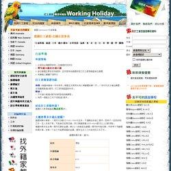 德國打工渡假-出國注意事項、出國行李準備清單