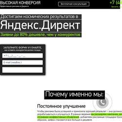 Профессиональная настройка и ведение Яндекс.Директ.