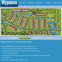 ЖУРАВЛИ, ИНФРАСТРУКТУРА в поселке ЖУРАВЛИ