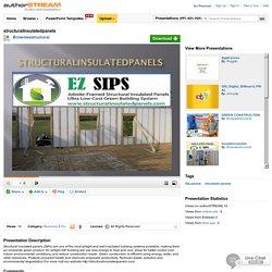Structuralinsulatedpanels