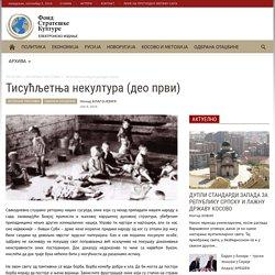Ненад Благојевић - Тисућљетња некултура (део први)