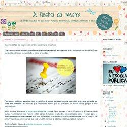 A fiestra da mestra: 15 propostas de expresión oral e escritura creativa!