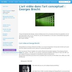 ArtvideoconceptuelBrecht
