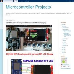 esp8266-wifi-tftlcd