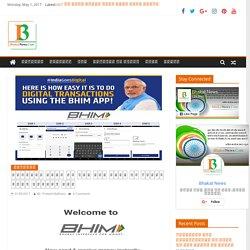 नरेंद्र मोदी ने कहा भीम एप्प के जरिये उठाओ आर्थिक लाभ